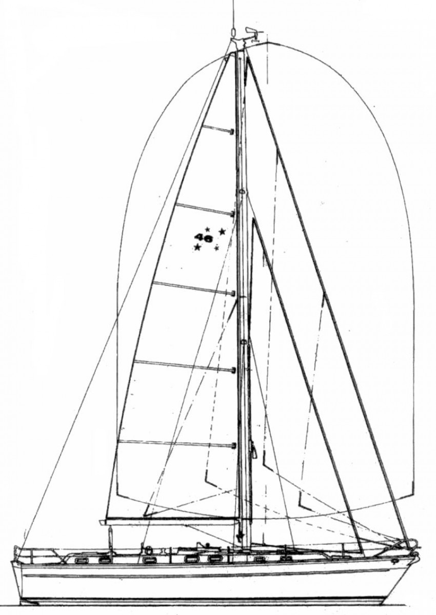 Southern Cross & Azzura 46